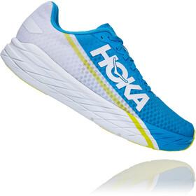 Hoka One One Rocket X Scarpe, blu/bianco
